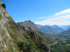 2018 - Ariege_20180917_0211 (Hanzlers Warped Visions) Tags: lavoiedesperestranquilles ariege france climbing rockclimbing rock rocky adventure outdoors outside ipswichmountaineeringclub ipswichmc ipswichimc comtédefoix occitanie