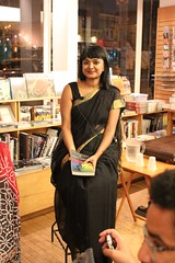 Tanwi (olive witch) Tags: 2015 aug15 august book booklaunch bookstore fem indoors night nyc