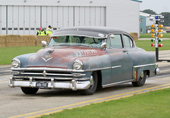 1953 Chrysler New Yorker Coupe (686 YUE) 5400cc - Sywell Classic 2018 (anorakin) Tags: 1953 chrysler newyorker coupe 686yue 5400cc sywellclassic 2018