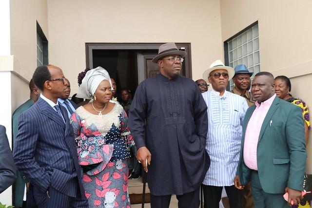 HSDickson- Condolence visit by By Ogun State Governor Ibikunle Amosun. 13th September 2018