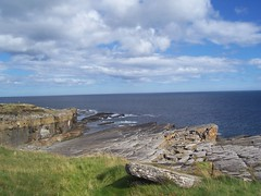 Dramatic Coastline, Wick, Caithness, Aug 2018 (allanmaciver) Tags: coastline wick caithness scotland north sea rocks dramatic stone clouds weather edge allanmaciver