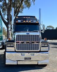 Old Skool trucking (quarterdeck888) Tags: trucks truckies transport australianroadtransport roadtransport lorry primemover bigrig overtheroad class8 heavyvehicle highway road truckphotos nikon d7100 movingtrucks jerilderietrucks jerilderietruckphotos quarterdeck frosty expressfreight generalfreight logistics overnightfreight highwayphotos semitrailer semis semi flickr flickrphotos winton wintontruckshow wintontruckshow2018 wintonshowandshine truckshow workingtruckshow ford fordtrucks louiesville ltl9000 louie oldskooltrucking flattop