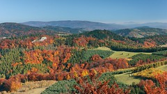 View from Wysoka Mt. towards east (Paweł Błaszak) Tags: landscape pieniny poland nature beskidy mountains