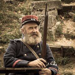 Poilus #01 (t.senot) Tags: portrait grandeguerre soldat fusil