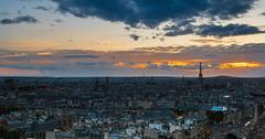 Sunset over Paris (valecomte20) Tags: sunsetoverparis sunset over paris seine nikon d5500