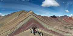 Winicunca (E. Aguedo) Tags: winicunca rainbow mountain people southamerica andes cusco pitumarca peru clouds sky ngc