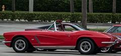 Red Vette (ACEZandEIGHTZ) Tags: parking lot nikon d3200 auto automobile red corvette wheels classic chevy fast racing convertible