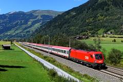 ÖBB 1116.194 Luggau (0648n) (christophschneider1) Tags: tauernbahn tauern nordrampe gasteinertal luggau salzburgerland öbb taurus siemens 1116 1116194 eurocity ec113 d850