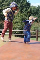 Jumping about (quinn.anya) Tags: sam kindergartener paul toddler jumpingpillow jellystonepark