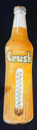 Orange Crush thermometer sign ($134.40)