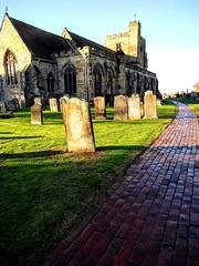St Mary's church Goudhurst (laurapage839) Tags: stmaryschurch goudhurst kent uk mobilephonephoto moto weald light shadows green