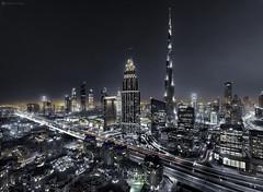 (Ahmad_dubai) Tags: dubai burjkhalifa city cityscape light art architecture amazing beuatiful blue bluehour