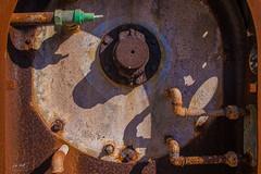 Washing drum (markus_langlotz) Tags: lost place industry rust industrie rost waschtrommel washing drum lingerie laundry jail abandoned gefängnis verlassen helloween