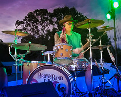 Drummer (grantdaws) Tags: drum drums drummer live music blues rock performance constantinople ga georgia usa colorful stage light lights lighting drumming outdoor outdoors
