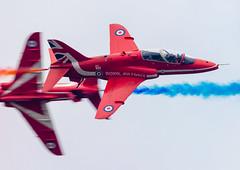 Syncro Pair Pass (SouthamptonPete) Tags: raf aircraft hawk team formation redarrows airshow duxfordairshows aerobatic duxford