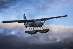 Harbour Air Victoria BC (Victor Carrera) Tags: plane clouds sky victoriabc pilot nikon 600mm d7200