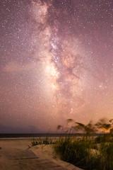 Stargazing from the Boardwalk (GRPhotog) Tags: stars stargazing milkyway galaxy beach ocean boardwalk canon canoneos70d 70d tokina1116 tokina kiawahisland kiawah southcarolina
