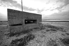 Bunker at Rye Harbour - featured in Richard III (1995) (Whipper_snapper) Tags: rye ryeharbour eastsussex seaside coast england uk gb pentax pentaxk5