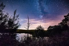 Milchstraße über dem Eichholzmaar (clemensgilles) Tags: maar lake longexposure darkness nightphoto night astrofotographie sternenhimmel starlight eifel germany beautiful