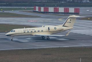 J-756, Gulfstream IV Pakistan Air Force @ Zürich ZRH LSZH