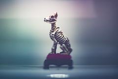 Sit, Stay, Play Dead. (3rd-Rate Photography) Tags: skeleton dog miniture figure halloween tinytreasures ashland freelens canon nikon 50mm daytona florida 3rdratephotography earlware 365 horror