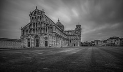 good morning pisa (Wizard CG) Tags: cathedral pisa europe italian architecture italy piazza dei miracoli del duomo tuscany unesco world heritage site catholic building bw church blackandwhite monochrome leaning tower historic city centre toscana italia hdr buildings square olympus epl7