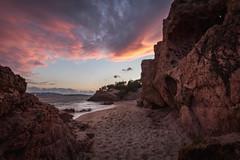 U Benedettu (Arnaud Grimaldi) Tags: benedettu sunset coucher de soleil plage corse corsica mer sea