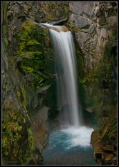 Magical Christine Falls (Ernie Misner) Tags: f8anddontforgetyourpolarizer christinefalls mountrainier mountrainiernationalpark waterfall falls erniemisner nikond810 70200efllens 70200 paradise