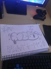 (Mourão (SURTO)) Tags: throwup grafitti art arte rua street pixo pixação bomb letters skills tag tags stencil duck pato colorgin arteurbana urbana urban throw up rap snoopy hiphop hip hop cultura