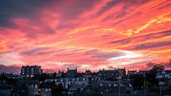 Sunset over Stonehaven - Scotland - Travel photography (Giuseppe Milo (www.pixael.com)) Tags: photo landscape sunset stonehaven city cityscape clouds sun urban scotland aberdeenshire travel photography sky europe geotagged light unitedkingdom gb onsale