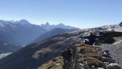 the man and the mountains (m_big_b) Tags: alps mountains switzerland