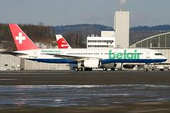 HB-IHR_09 (GH@BHD) Tags: hbihr boeing 757 752 757200 b757 b752 belair zrh lszh zurichairport zurich kloten airliner aviation aircraft