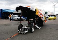 Funnycar_2991 (Fast an' Bulbous) Tags: car vehicle automobile drag race track strip fast speed power acceleration pits motorsport racecar santapod outdoor nikon