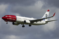 EI-FVW | Norwegian Air International | Boeing B737-8JP(WL) | CN 42252 | Built 2017 | DUB/EIDW 29/08/2018 (Mick Planespotter) Tags: aircraft airport dublinairport 2018 collinstown nik sharpenerpro3 eifvw norwegian air international boeing b7378jpwl 42252 2017 dub eidw 29082018 b737 flight