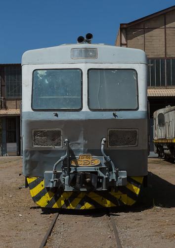 Cars of the ethio-djibouti railway station, Dire dawa region, Dire dawa, Ethiopia