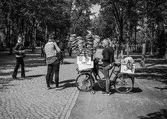 Stacked (justingreen19) Tags: berlin bike brezeln europe fastfood germany street tiergarten warmebrezeln bread business bycycle city eat food forsale justingreen19 park pretzel pretzels selection snack stacked trees fuji fujifilm x100f