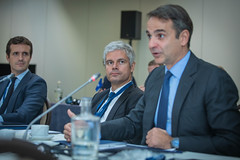 A23A8708 (More pictures and videos: connect@epp.eu) Tags: epp summit european people party brussels belgium october 2018 pablo casado spain kyriakos mitsotakis greece laurent wauquiez france