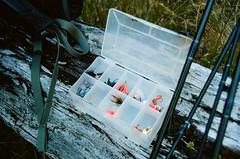 (Snow + Salt) Tags: fly fishing alaska hiking outdoors portra 400 minolta xd11 mountain lake