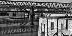 20181014-8006 Hamburg Elbbruecken (Thierry Lubin (www.meinstream-fotografie.de )) Tags: bnwmonochrome bwblackandwhiteblackwhite city elbbruecken elbe hafen hamburg hh meinstreammeinstreamfotografiefotografie swschwarzweissschwarzundweiss urban veddel