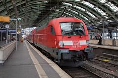 DB 182 008 Basel Ostbahnhof (daveymills37886) Tags: db 182 008 basel ostbahnhof baureihe siemens es64u2