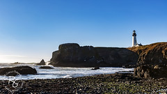 Yaquina Head Lighthouse (rachaellegrimsrud) Tags: newportor yaquinabay yaquinaheadlighthouse cobblebeach yaquinaheadmarinegarden worldwidephotowalk scottkelbyworldwidephotowalk 2018worldwidephotowalk pacificocean waterscape canon1635mmf28lii ushighway101 us101 pacificcoasthighway