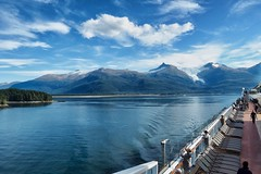 View from the Deck (Tog66) Tags: celebrity solstice alaska sun sepetmber cruise glacier olympus m1240mm f28