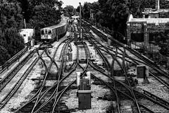 Purple line Chicago subway (alfapegaso) Tags: subway chicago