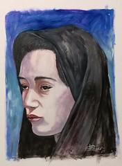 volto di donna (cicipeis) Tags: cicipeisart