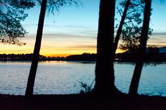 Anochecer en el pantano (talegas_jr) Tags: granada pantano pantanocubillas albolote anochecer paisaje españa nikon canon cubillas maracena