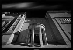Kunsthalle Hamburg (Dierk Topp) Tags: a7rii a7rm2 ilce7rii ilce7rm2 laowa1018mmf4556fezoom sonya7rii architecture hamburg sony wideangle ultrawide bw sw monochrom