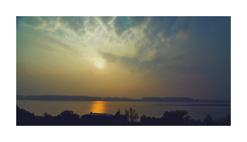 sunrise on the Danube at Galati