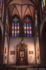 Warsaw, Poland-March 20, 2018: Interior of Cathedral of St. Michael the Archangel and St. Florian the Martyr, in the Praga District of Warsaw (Nikos Stamos photography) Tags: poland archangel architecture attraction attractions beautiful building capital cathedral catholic catholicism christian church city classic color colorful culture decoration destination dome editorial europe european famous florian glass gothic historic history holiday inside interior landscape martyr michael monument old park polish polska praga religion religious roman saint scenery sights sightseeing st tourism travel vintage vitro warsaw warszawa window worship