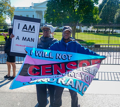 2018.10.22 We Won't Be Erased - Rally for Trans Rights, Washington, DC USA 06864
