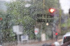 On The Bus (Grenoble, France) (Haytham M.) Tags: spring france grenoble rain drops street public transport bus